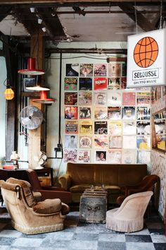 Le Comptoir Generale - a ghetto museum and hidden gem hideaway in Paris
