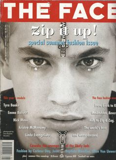 The Face Aug 1993 59 Linda Evangelista Tyra Banks Emma Balfour Kyle