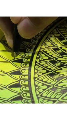 Mandala Art Therapy, Mandala Art Lesson, Mandala Artwork, Mandala Painting, Rock Painting, Easy Mandala Drawing, Simple Mandala, Art Drawings Sketches Simple, Sketch Art
