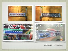 African Paper Covering on Crystal Kaleidoscope