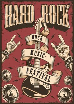 Jazz Festival, Film Festival Poster, Onam Festival, Food Festival, Musikfestival Poster, Typography Poster, Pop Rock, Rock And Roll, Rock Band Posters