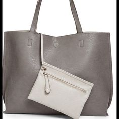 29db791136b4 Nordstrom faux leather tote and wristlet Brand new with tag . Bought from  Nordstrom and the