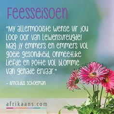 Afrikaans.com omskep jou woorde in 'n kaartjie Afrikaanse Quotes, Goeie More, Christmas Blessings, Merry Christmas And Happy New Year, Motivation, News, Words, Horse, Inspiration