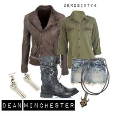"""""""Dean Winchester - Supernatural"""" by zerosixty4 on Polyvore"""