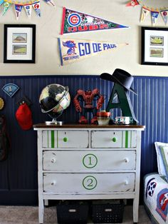 Robb Restyle: Another Painted Number Dresser MMS 7/26