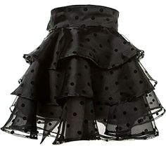 Cocktail Aprons  Faith - Just Black   Fluffy, fun and fabulously flocked polka dot organza apron paired with gorgeous crystal organza.   One size. Our extra long ties provide a beautiful fit for most women. Machine or hand wash ultra gentle. Hang dry or tumble on lowest setting.   $80.00