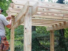 How to Build a Pergola : How-To : DIY Network #pergoladiy