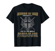 Armor of God Ephesians 6:17 vintage color TShirt