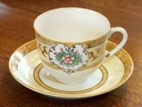 Old Noritake Cup & Saucer [Toshi Antiques]