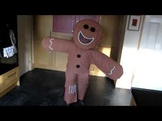 Stickman costume for world book day costumes pinterest homemade gingerbread man costume for ethan he won the world book day costume comp at solutioingenieria Choice Image