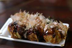 Takoyaki, heart of Japanese junk food @John Longobardi, Kyoto, JP