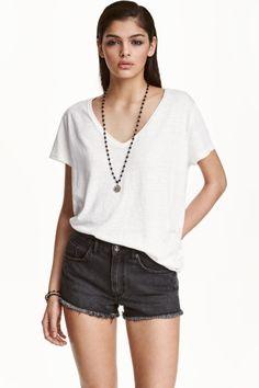 Denim shorts | H&M