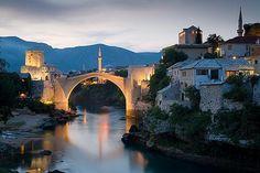 Mostar, Bosnia-Herzegovina.