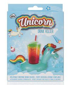 Loving this PopFix Inflatable Unicorn Drink Holder on #zulily! #zulilyfinds
