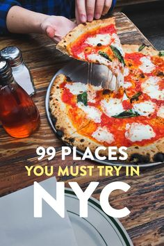 Ultimate NYC Food Bucket List 99 Places to Eat in NYC - Travel New York - Ideas of Travel New York - Heading to NYC? This is your ultimate NYC food bucket list with 99 Best Places to Eat in NYC from fine dining to cheap eats // Local Adventurer New York City Vacation, New York City Travel, New Travel, Travel Usa, New York City Eats, Travel Tips, Travel Hacks, Restaurants In Nyc, Ny Food