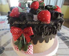 torta in feltro PICCOLO MONDO COUNTRY