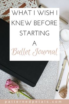 What I Wish I Knew Before Starting A Bullet Journal