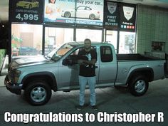 Help us congratulate Mr. Christopher R on the purchase of this nice #Chevy #Colorado #truck. Chris is a #firsttimebuyer and we were able to arrange #financing with a Co-signer. So if you or anyone in your group of family or friends is in the market for a #qualityusedcar #truck #van or #suv please ask them to give us a chance. We can certainly help. Please visit our website: www.empiremotors.org to view our entire selection and apply online for quick #autooan…