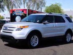 2013 Ford Explorer Lunde's Peoria Volkswagen Phoenix, AZ           Lunde's Peoria Volkswagen 8801 W. Bell Road Peoria, AZ 85382 623-875-4000. www.peoriavw.com #vw #volkswagen #newcarspecial