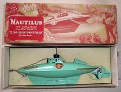 Bilderesultat for nautilus toy submarine