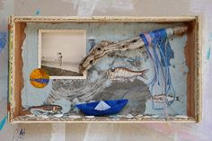 mano kellner, kunstschachtel / art box nr 20/2017, meergeschichen (sold)