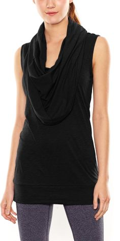 Cowl neck tunic from Lucy.