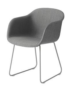 Muuto Fiber - Sled Base - Upholstery-Grey | mintroom.de #Muuto #mintroom