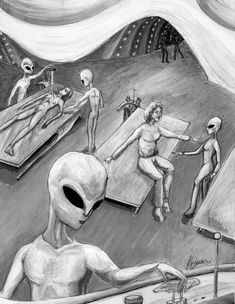 Grey Aliens Art ****If you're looking for more Sci Fi, Look out for Nathan… Arte Alien, Alien Art, Unexplained Mysteries, Ancient Mysteries, Aliens And Ufos, Ancient Aliens, Alien Theories, Science Fiction Kunst, Dragons