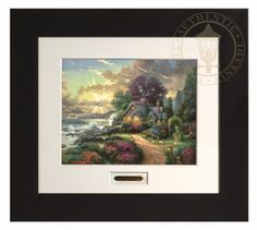 Move it and lose it.: THOMAS KINKADE A NEW DAY DAWNING