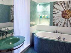 College Apartment Bathroom Decorating Ideas fabulous nautical theme bathroom blue sea polyester shower curtain
