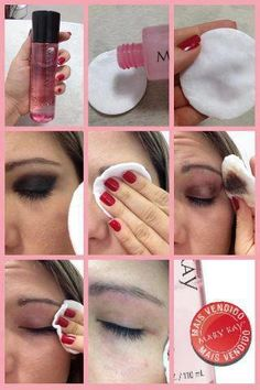 Mary Kay Oil free makeup Remover. As a Mary Kay beauty consultant I can help you, please let me know what you would like or need.