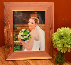8x10+Tennessee+Cedar+Picture+Frame+by+RileyWoodCraft+on+Etsy,+$25.00