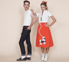 50s Fashion Tumblr grease more 50 couples costumes couples costumes grease 50s couples .  sc 1 th 211 & 50s Fashion Tumblr