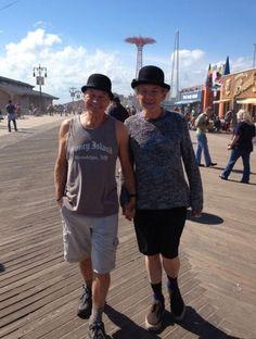 Sir Patrick Stewart e Sir Ian Mckellen a New York 01