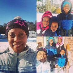 Our first snow day for the Winter. Kids had a blast! #snowday #noschool #nowork
