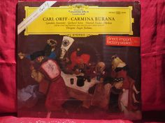 Carl Orff, Old Vinyl Records, Chor, Classical Music, Amazing, Etsy, Conductors, Orchestra, Proud Of You