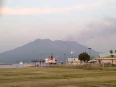 桜島 Mt. SAKURAJIMA It's an active volcano.