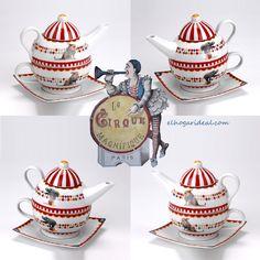 Pasen y vean. El mayor espectáculo del mundo. Tea for one Circus. ¿Te saco entrada? http://elhogarideal.com/es/74-juegos-de-cafe