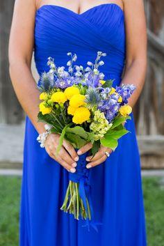 Blue And Yellow Bridesmaid Dresses - Wedding: Bridesmaid Dresses ...