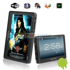 JXD S18 4G Amlogic 8726 M3-L 512M DDR3 Android 4.0 Mini Pad with 4.3 Resistive Touch Screen and Wi-Fi/G-sensor (Black)