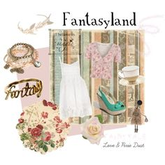 """""""Fantasyland"""" by loveandpixiedust on Polyvore"""