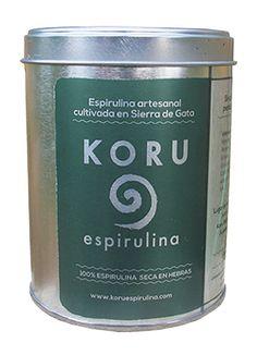 Envase de Espirulina – 100 g. de espirulina seca en hebras