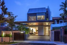 Wallflower Architecture + Design have completed the Far Sight House in Singapore