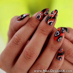 halloween nail art - Nail Designs & Nail Art