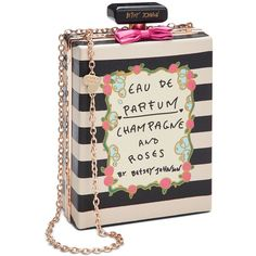 Betsey Johnson Perfume Shoulder Bag and other apparel, accessories and trends. Browse and shop 6 related looks.