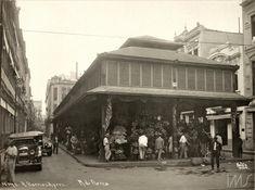 Mercado das Flores na Rua do Hospícioa (atual Rua Buenos Aires) - foto Augusto Malta 1920