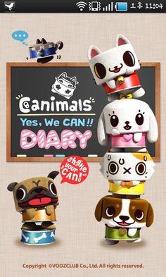 Canimals Diary