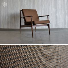 original mid-century, modern lounge chair hutch has curated in Omaha, NE.  www.hutchmodern.com