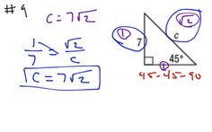 Geometry Ch 8 Test Rev #9