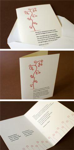 Enzo Ruta Graphics&Craft Partecipazione di nozze | Wedding stationery